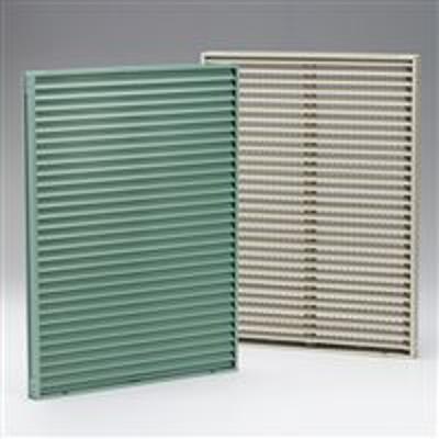 Image for Ruskin Aluminum Thinline Stationary Louver ET125/ET125-30