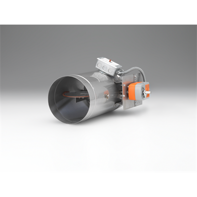 Image for Combination Smoke and Fire Damper FSDR25SS - True Round - UL555/UL555S, Class 1, 1 ½ Hour