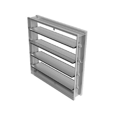 Image for CD60DC Galvanized steel airfoil blade damper (Data Center)