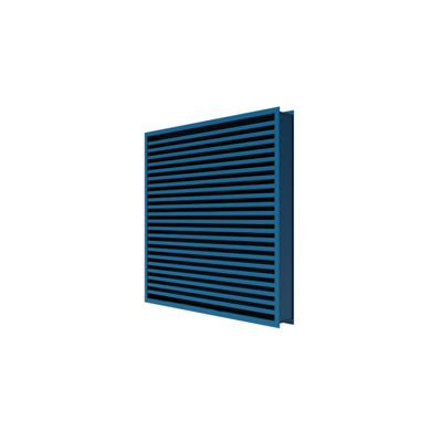 Image for XP500WD Stationary Wind-Driven Rain Aluminum Louvers