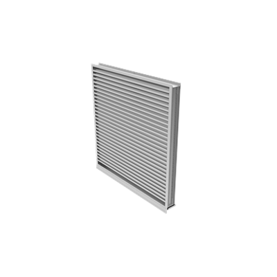 Image for EME420MD Wind Driven Rain Resistant Stationary Louver