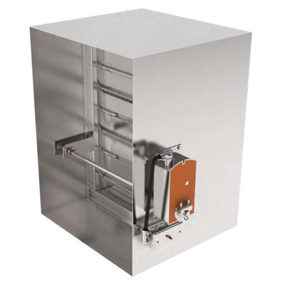 Image for FSD37 1-1/2 hr V-Groove Blade Combination Fire/Smoke Damper