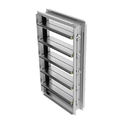 Image for TED50DC Extruded aluminum insulated airfoil blade damper (Data Center)