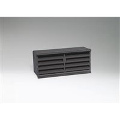 Image for Ruskin Cast Aluminum Brick Vent Louver BVC100