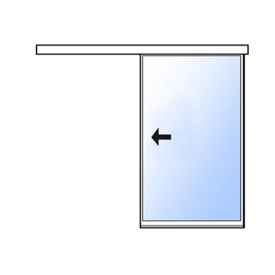 afbeelding voor Extra slank enkel schuifdeursysteem