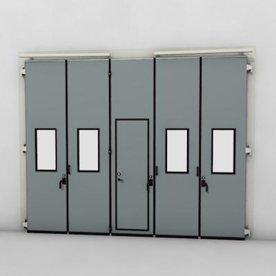 afbeelding voor ASSA ABLOY FD2250P Folding Door (3+2)(2+3) Manual DLW 3190-6300mm DLH 1850-6000mm