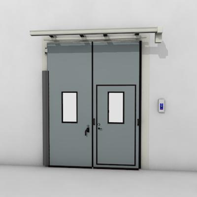 afbeelding voor ASSA ABLOY FD2250P Folding Door (2+0) Electrical DLW 1400-2500mm, DLH 2000-6000mm