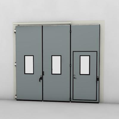afbeelding voor ASSA ABLOY FD2250P Folding Door (3+0)(0+3) Manual DLW 1885-3700mm DLH 1850-6000mm