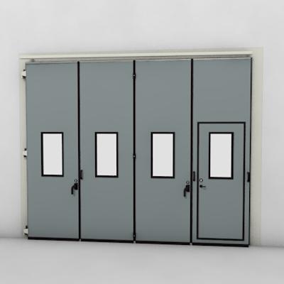 afbeelding voor ASSA ABLOY FD2250P Folding Door (4+0)(0+4) Manual DLW 2585-5000mm DLH 1850-6000mm