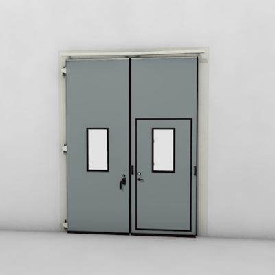 afbeelding voor ASSA ABLOY FD2250P Folding Door (2+0)(0+2) Manual DLW 1265-2500mm, DLH 1850-6000mm