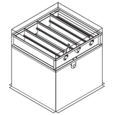 Image for Combination Fire Smoke Damper, 1-1/2 Hour, UL Class 1, Actuator In The Airstream, Out-Of-Partition