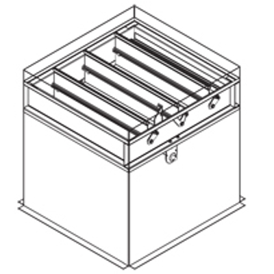 Image for Combination Fire Smoke Damper, 1-1/2 Hour, UL Class 2, Actuator In The Airstream, Out-Of-Partition