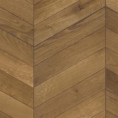 Image for Oak Chevron Light brown Left version