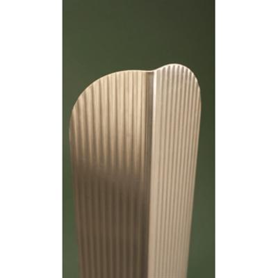 Image for Bellagard® VA34 Textured Stainless Steel Corner Guard, Arc-Crown