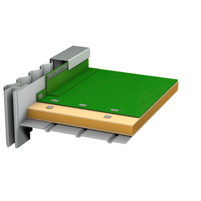 Image for SOPREMA - FLAG - Synthetic TPO waterpoofing system with vapour barrier for metal deck