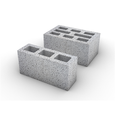 Image for Hollow concrete block