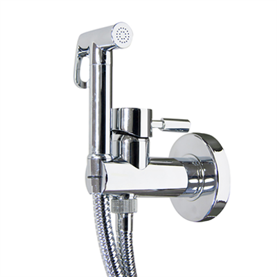 Image for THEO CITY Bidet mixer with minimalistic shower