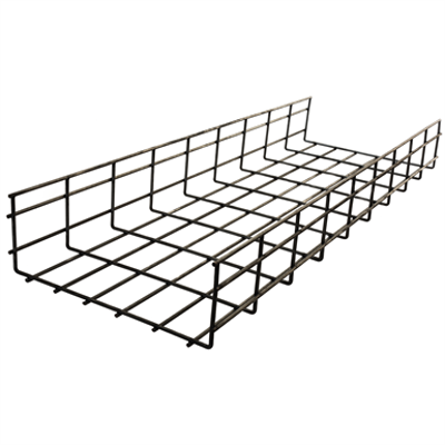 Image for Flat Style Wire Basket Tray