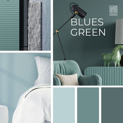 Image for NIPPON PAINT Blue-Green