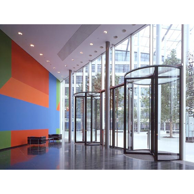 Image for Open Entrances - Revolving Door 3 Dividers