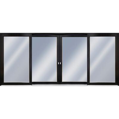 Image for Patio Life 4-sash sliding wooden patio door with aluminium cladding