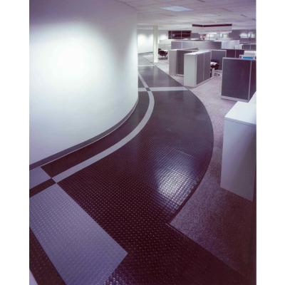 Image for Raised Circular Vantage Design Rubber Tile