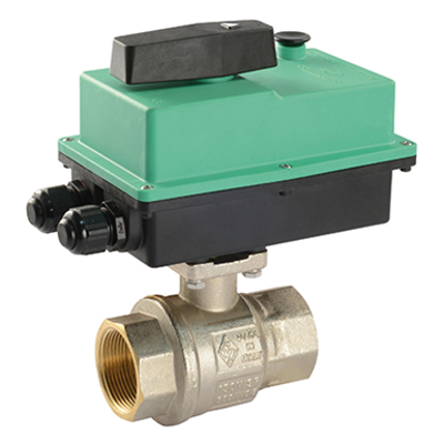 Image for BRASS MOTORISED VALVE COMPACT PRO