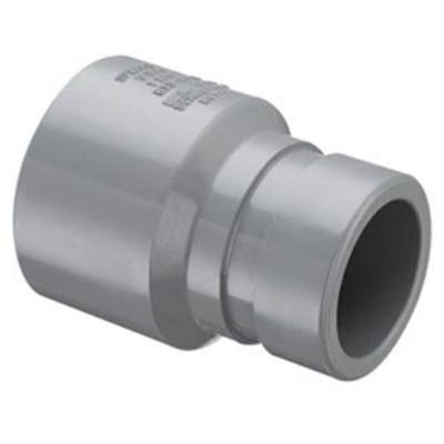 Image for SCH80 CPVC/PVC Grooved Coupling (Grv x Soc) - Fabricated
