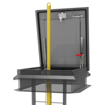 Image for Ladder Safety Post