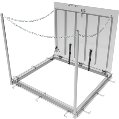 Image for Floor Door Safety Chains