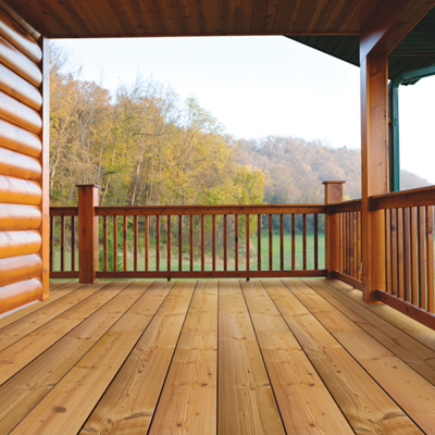 imagen para Thermory Spruce Decking