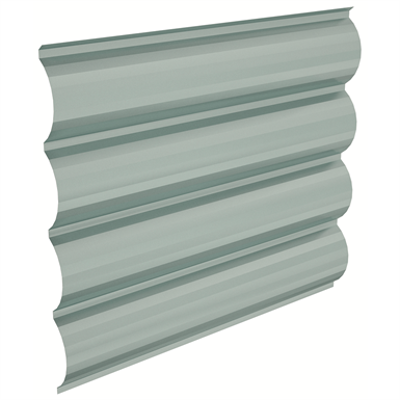 Image pour Egeo® Architectural metal profile for wall cladding