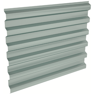 Image pour Euromodul® 44 Architectural self-supporting steel profile for wall cladding