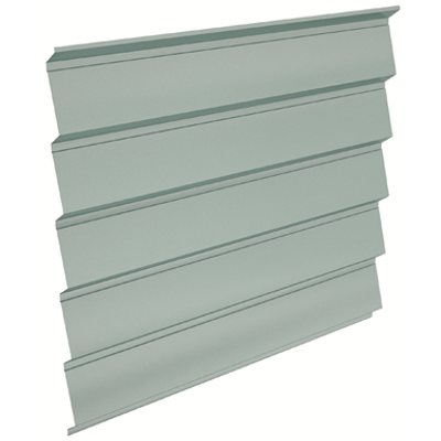 Image pour Atenea® Architectural metal profile for wall cladding