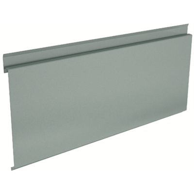 Image pour Euroline®300 Architectural self-supporting steel profile for wall cladding