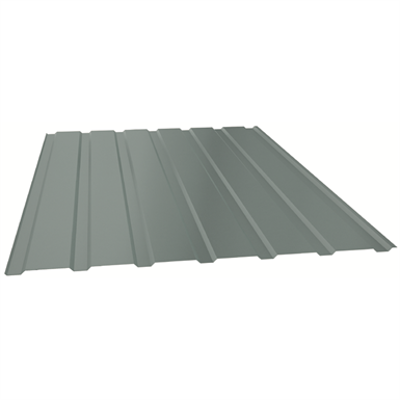 Image pour Euroline®12 Architectural self-supporting steel profile for wall cladding