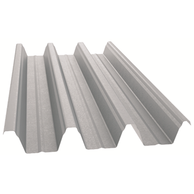 Image for Eurobase®106 Self-supporting steel profile for roofing