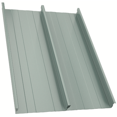 Eurobac® 80 Self-supporting steel tray  for wall cladding 이미지