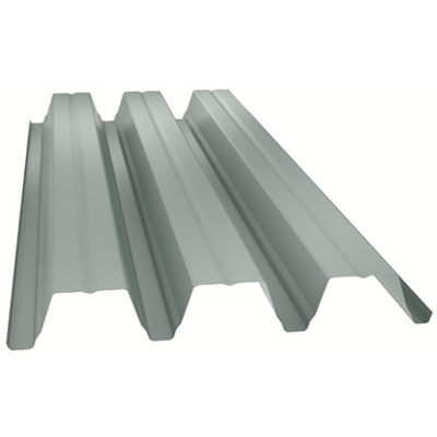 Image for Eurobase®106 Self-supporting steel profile for wall cladding