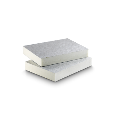 Image for PIR Insulated board Euroaislante  Aluminium 2U