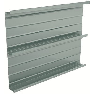 Eurobac®150 Self-supporting steel tray  for wall cladding 이미지