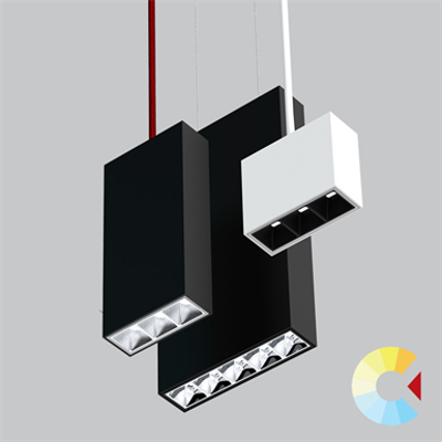 Image for CLUSTER PENDANT, Parabolic Linear Downlight