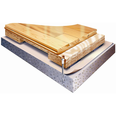 Image pour Action ProAir AR - EN/DIN Certified Anchored Laminated Wide Body Sleeper Floor System
