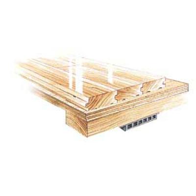Image pour ActionCush II Plus - Floating Sleeper Panel Floor System