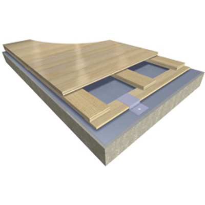 Image pour Action Aero NR - EN/DIN & FIBA Certified Anchored Resilient Sports Floor System
