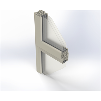 Image for Zendow#neo Single Window on Fixed Pane - Face mounted installation