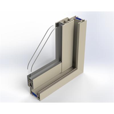 Image for iSlide#neo 2-Leaf Sliding Door - Block frame installation