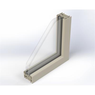 Image for Zendow Fixed Window - Block frame installation