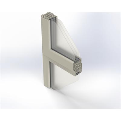 Image for Zendow#neo Single Window on Fixed Pane - Block frame installation