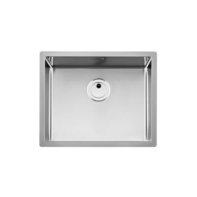 imagem para PRAGA 550mm Stainless steel single bowl kitchen sink